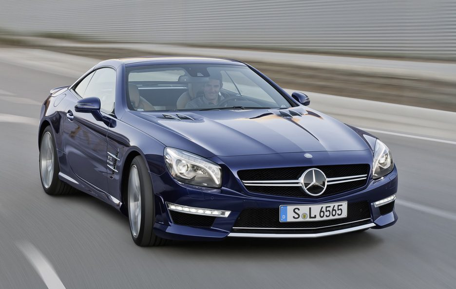 Nuova Mercedes SL 65 AMG 2012 - Frontale