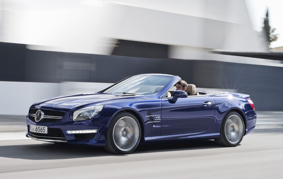 Nuova Mercedes SL 65 AMG 2012 - Laterale