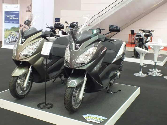 Peugeot Scooter, lo stand - Motodays 2012