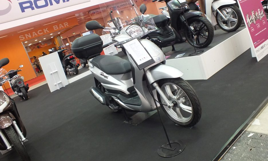 Peugeot, lo stand