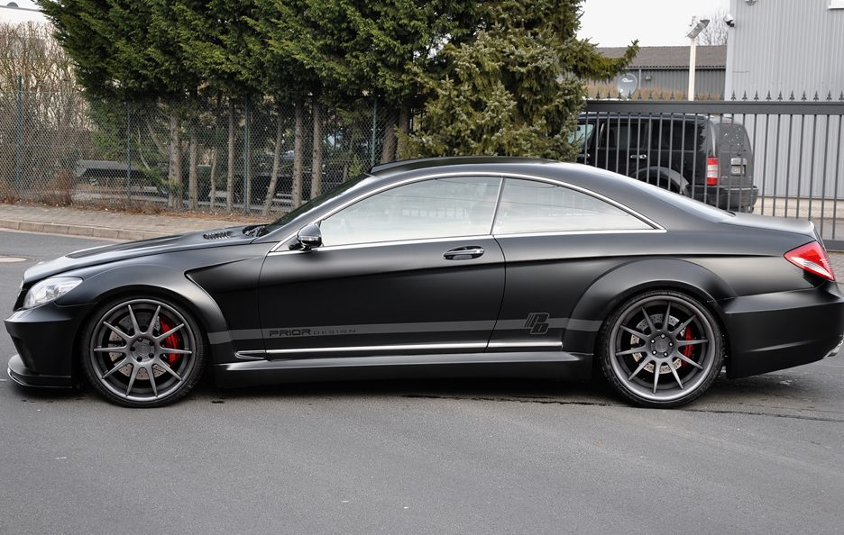 Prior Design - Mercedes CL Blackedition - Laterale