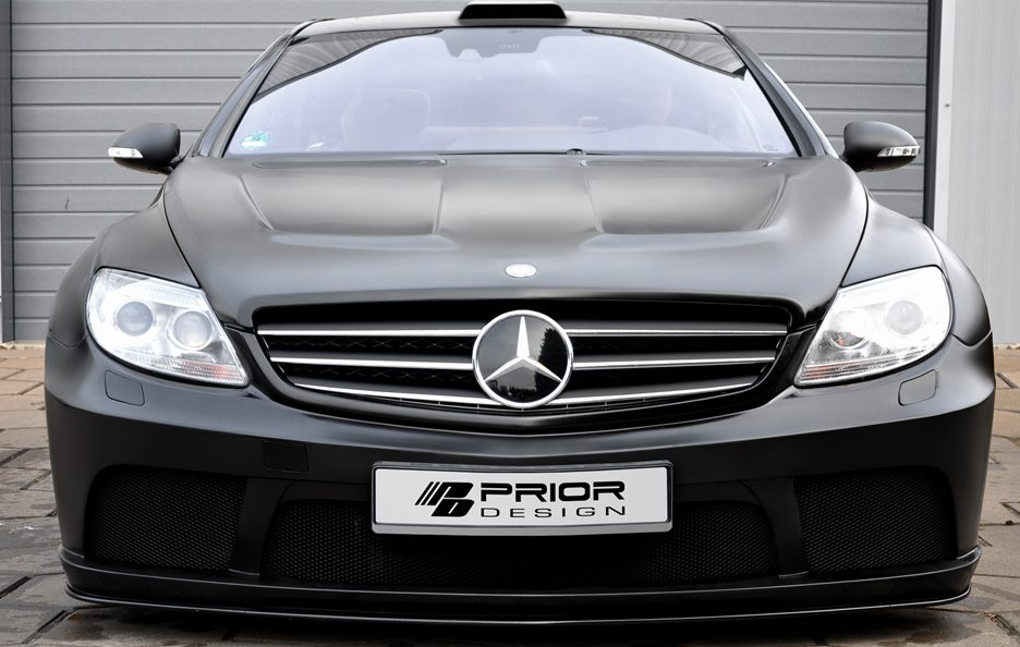Prior Design - Mercedes CL Blackedition - Muso