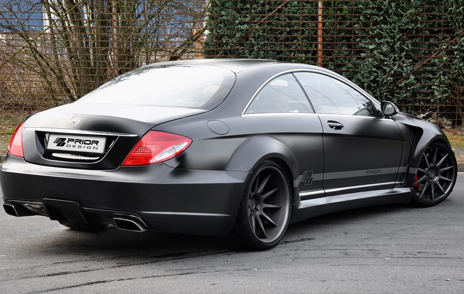 Prior Design - Mercedes CL Blackedition - Profilo posteriore