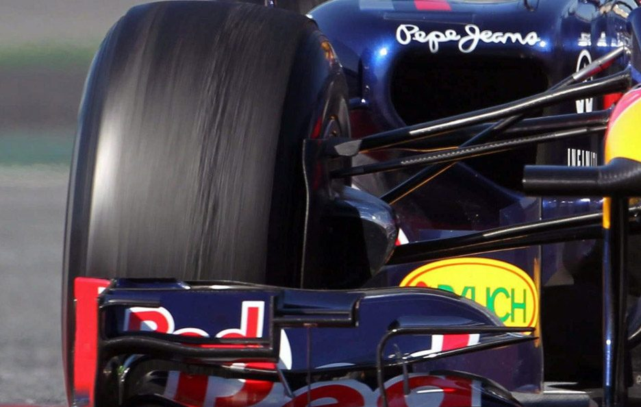 Red Bull RB8 push rod
