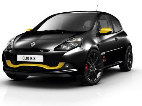 Renault Clio RS Red Bull Racing RB7 - Profilo