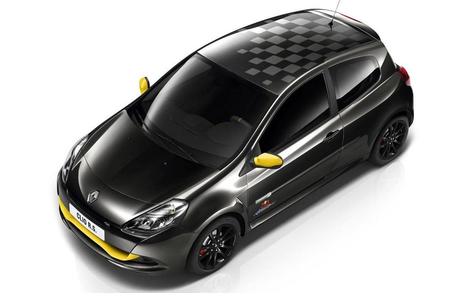 Renault Clio RS Red Bull Racing RB7 - Profilo alto
