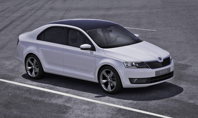 Skoda Mission L - Frontale