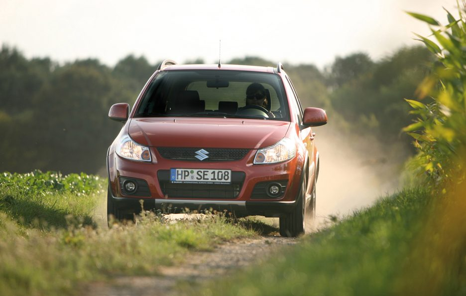 Suxuki SX4 - Frontale in motion