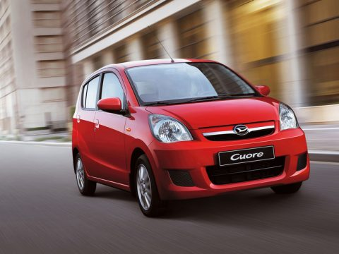 1° Daihatsu Cuore 1.0 Green Powered 73 punti