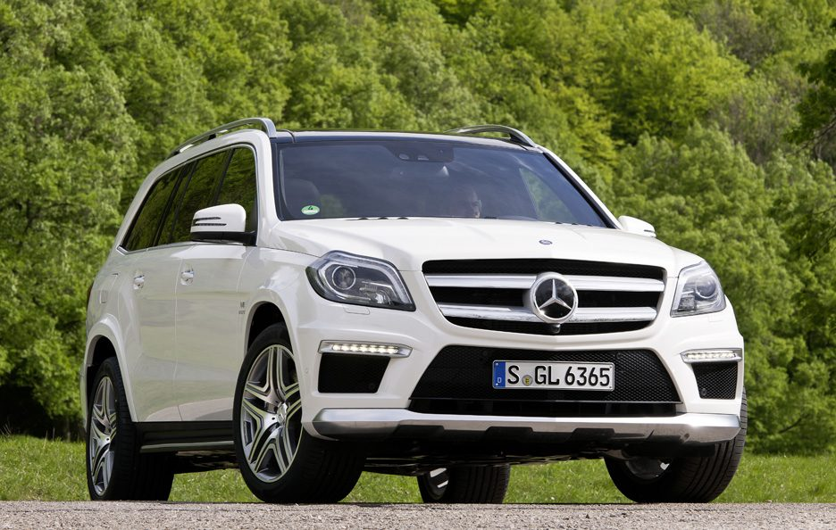 Mercedes GL 63 AMG - Frontale