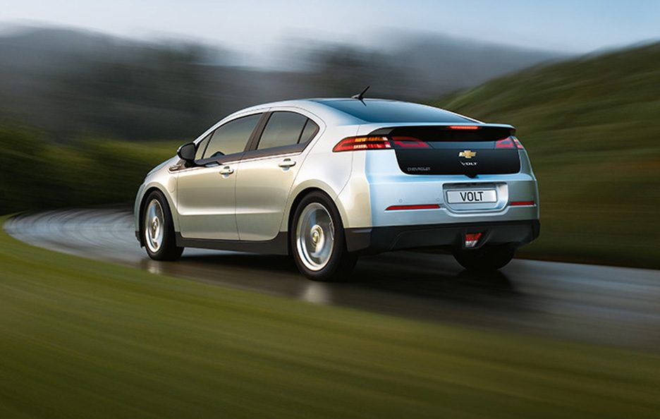 Chevrolet Volt - Posteriore in motion