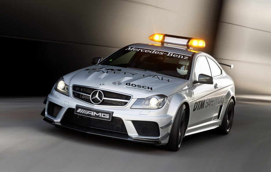 Mercedes C63 AMG - Safety Car DTM - Anteriore