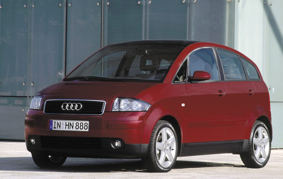 Audi A2 restyling