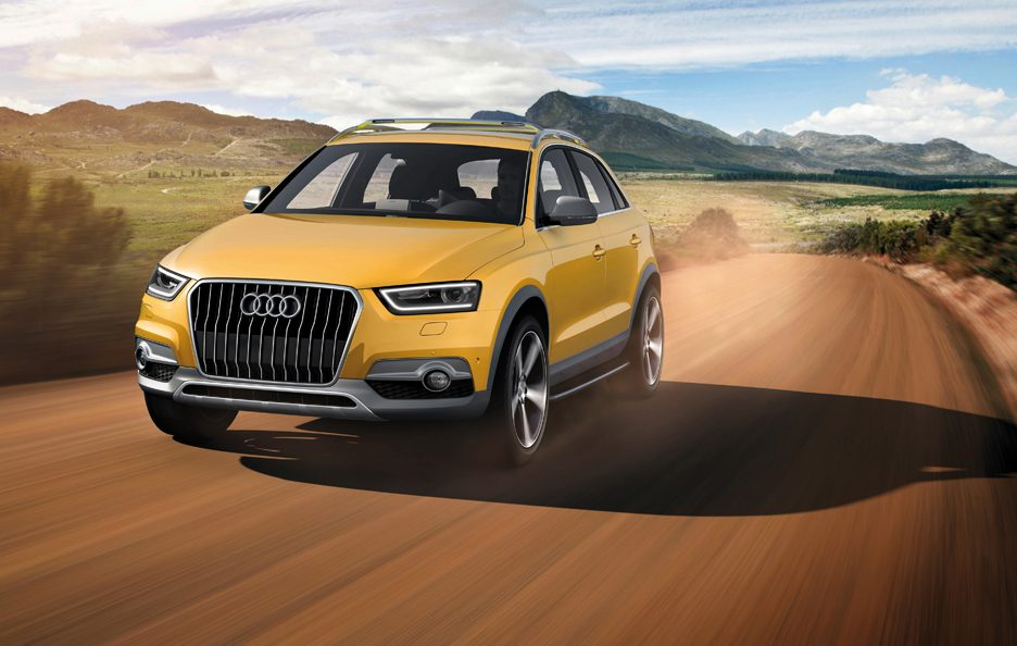 Audi Q3 jinlong yufeng - In motion