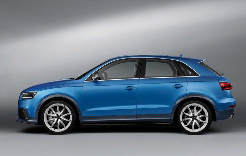 Audi RS Q3 - Laterale