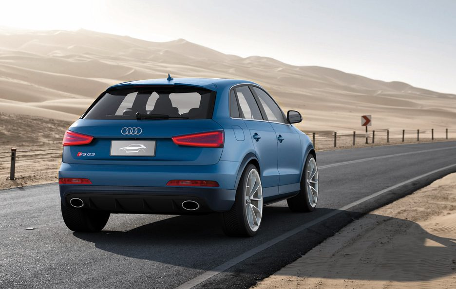 Audi RS Q3 - Posteriore in motion