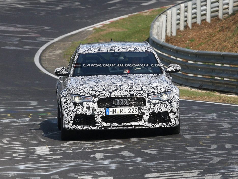 Audi RS6 - Frontale