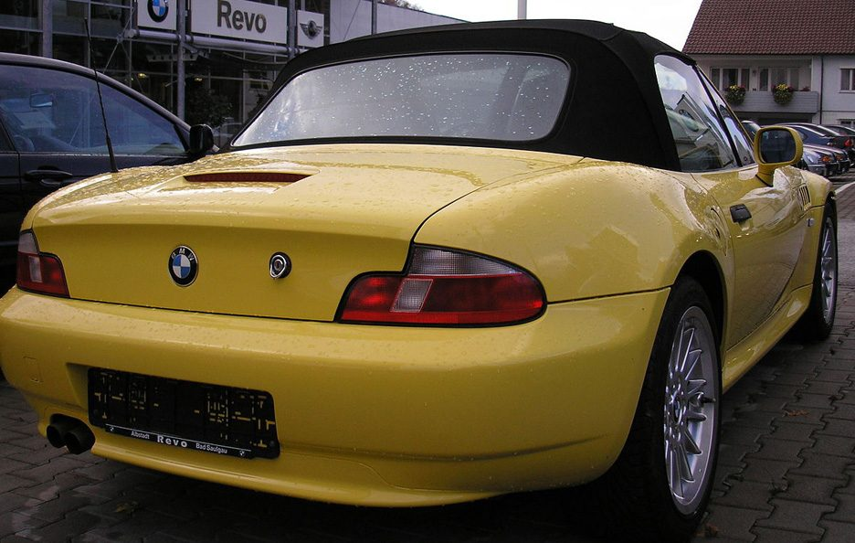 BMW Z3 restyling tre quarti posteriore