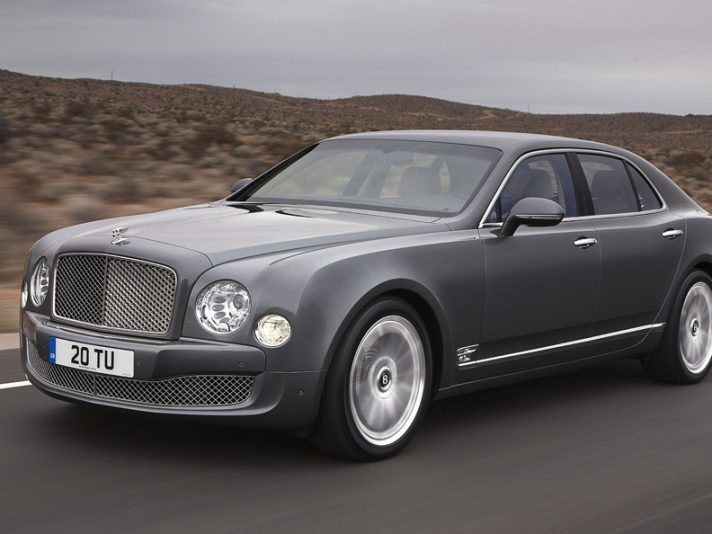 Bentley Mulsanne Mulliner Driver Specification