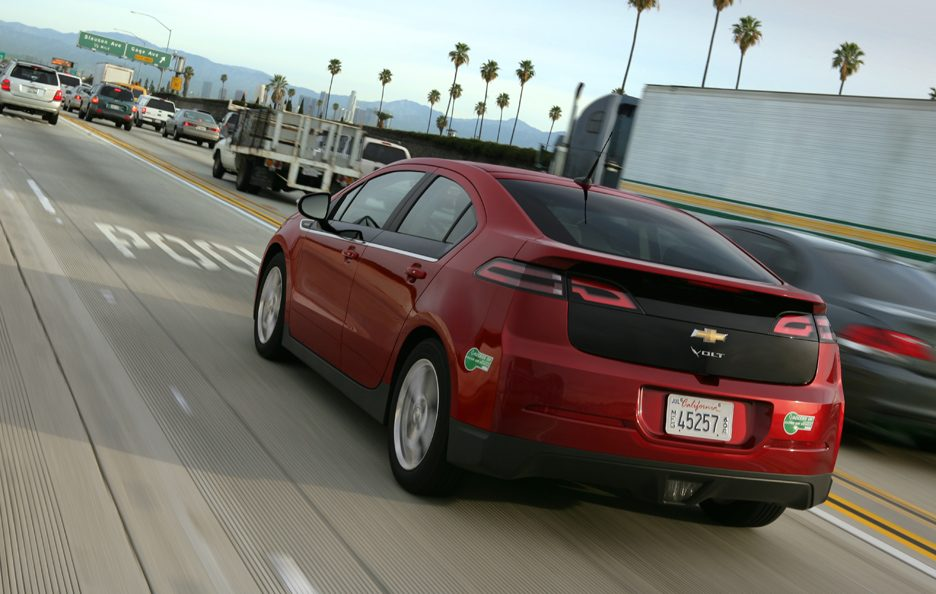 Chevrolet Volt 2013 - Posteriore in motion