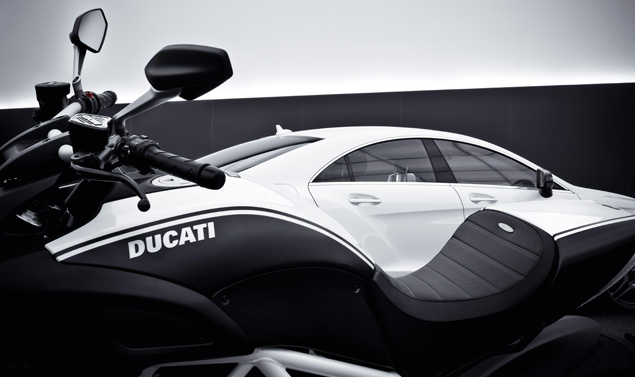 Ducati Diavel AMG - CLS 63 AMG - Le linee