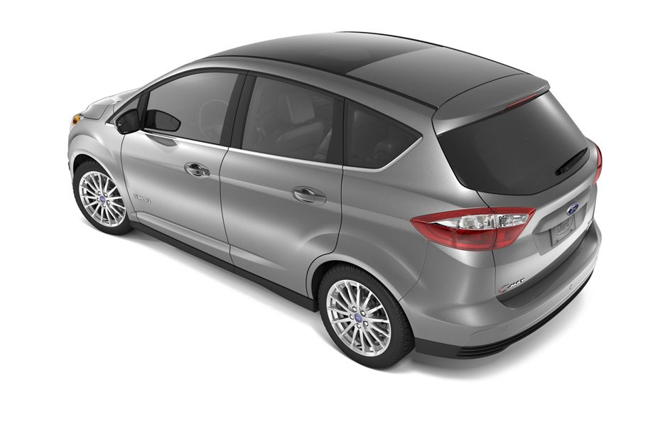Ford C-MAX Energi Plug-in - Retrotreno alto