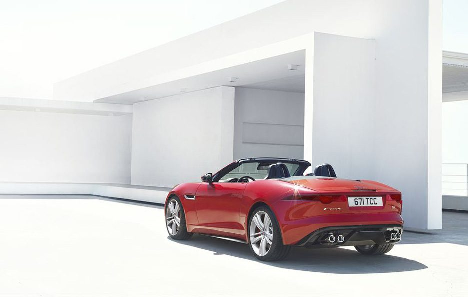 Jaguar F-Type - Il retrotreno