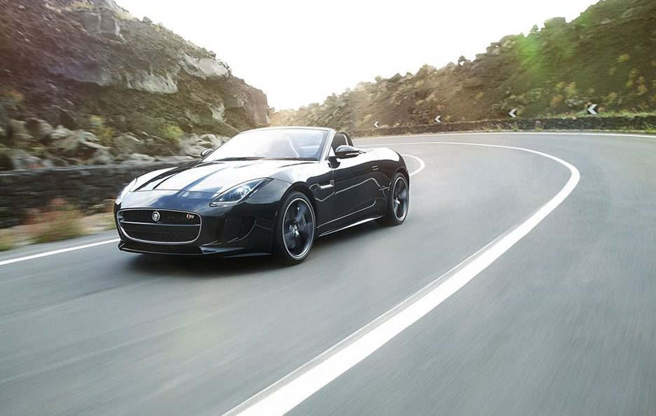 Jaguar F-Type - Linee in motion