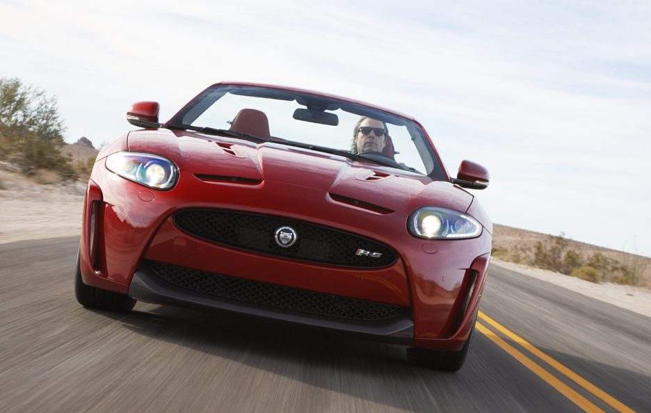 Jaguar XKR-S Convertibile X150 restyling frontale