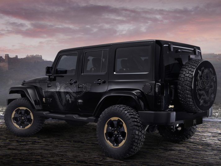 Jeep Wrangler Dragon: la show car per il Salone di Pechino