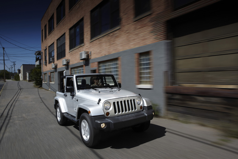 Jeep Wrangler - Il frontale