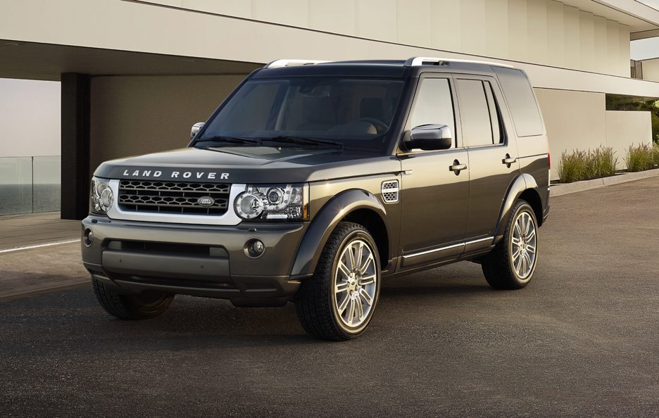 Land Rover Discovery 4 HSE Luxury Limited Edition - Profilo Frontale