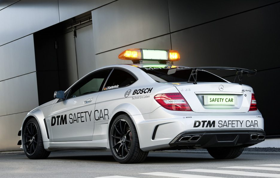 Mercedes C63 AMG - Safety Car DTM - Coda
