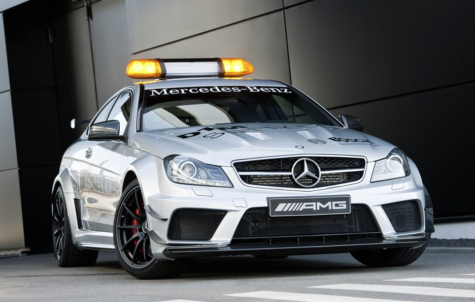 Mercedes C63 AMG - Safety Car DTM - Frontale