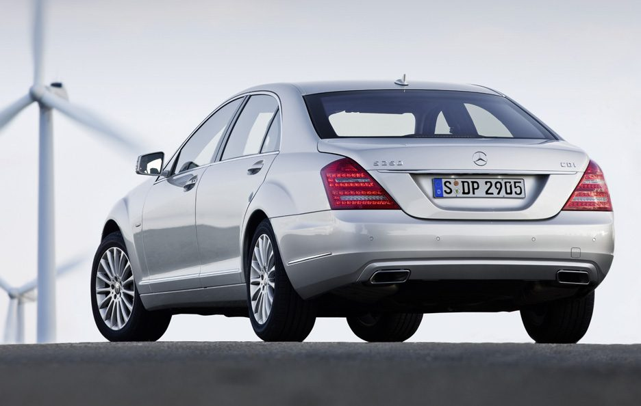 Mercedes Classe S 250 CDI BlueEFFICIENCY - Coda