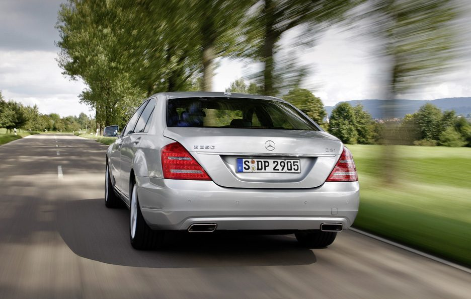 Mercedes Classe S 250 CDI BlueEFFICIENCY - Il posteriore