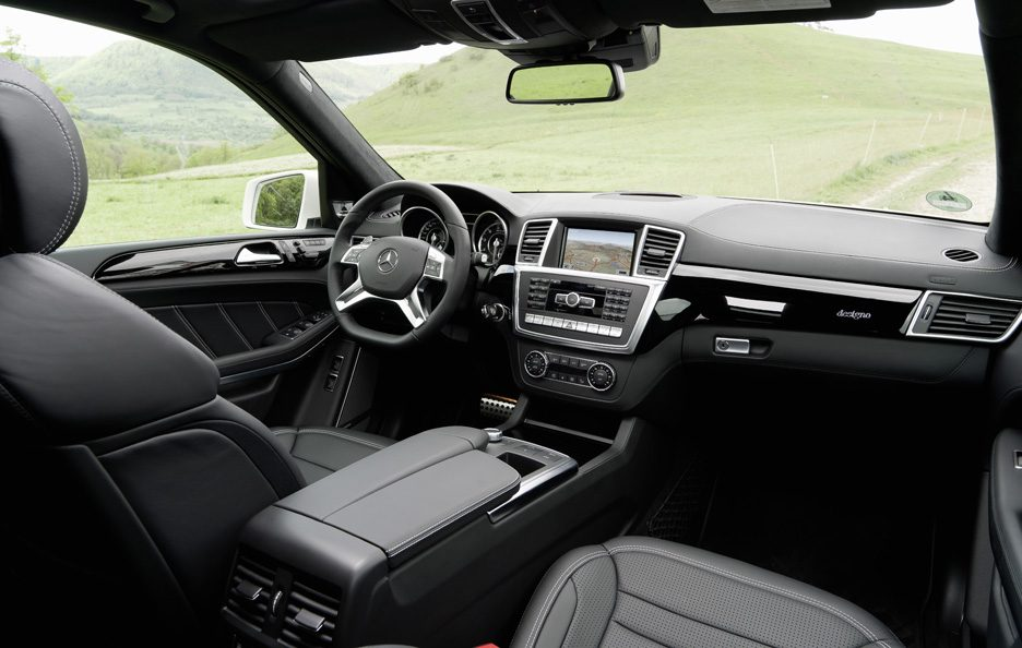 Mercedes GL 63 AMG - Interni
