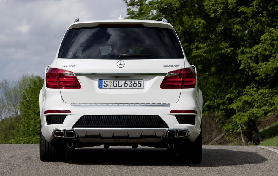 Mercedes GL 63 AMG - Posteriore