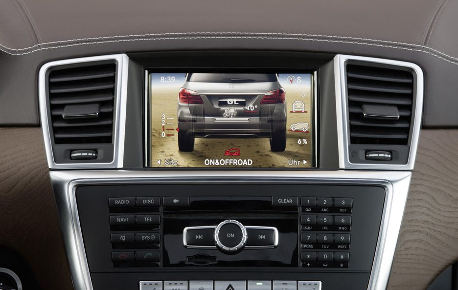 Mercedes GL - Display