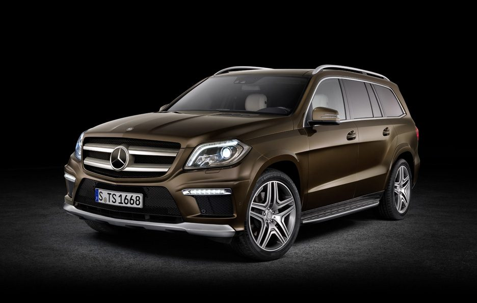 Mercedes GL - Studio - Design