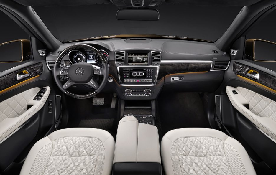 Mercedes GL - Studio - Interni