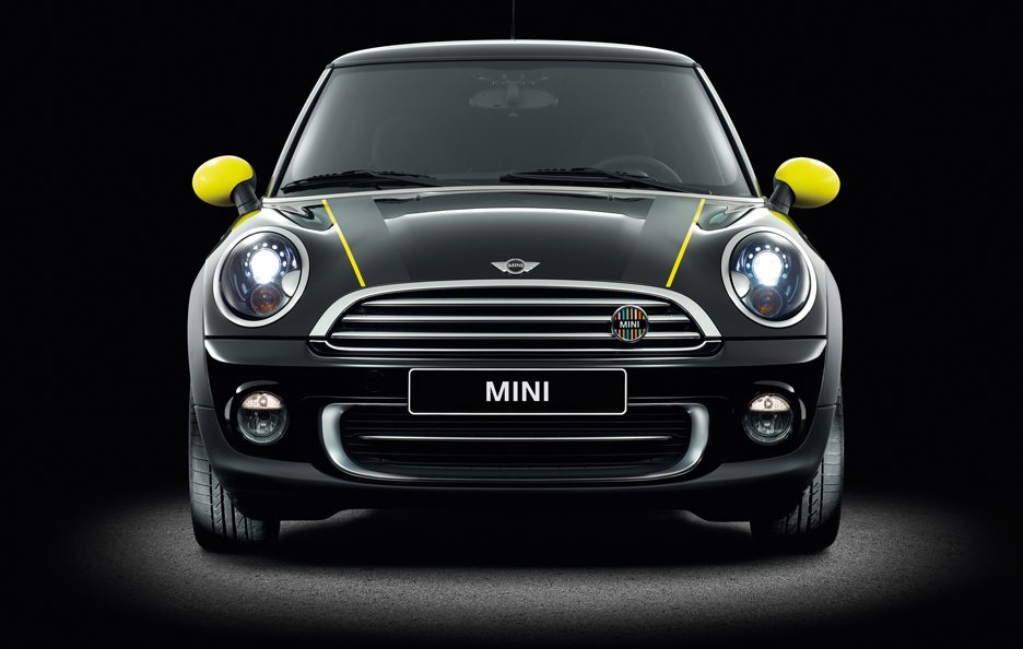 Mini Ray Line - Yellow - Frontale