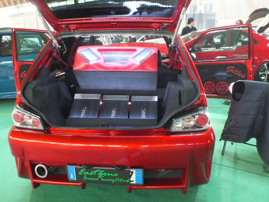 My Special Car 2012 - Peugeot 106 Rossa - Impianto audio