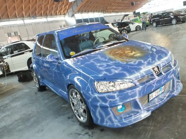Tuning Peugeot: 106 e 206 modificate, piccole