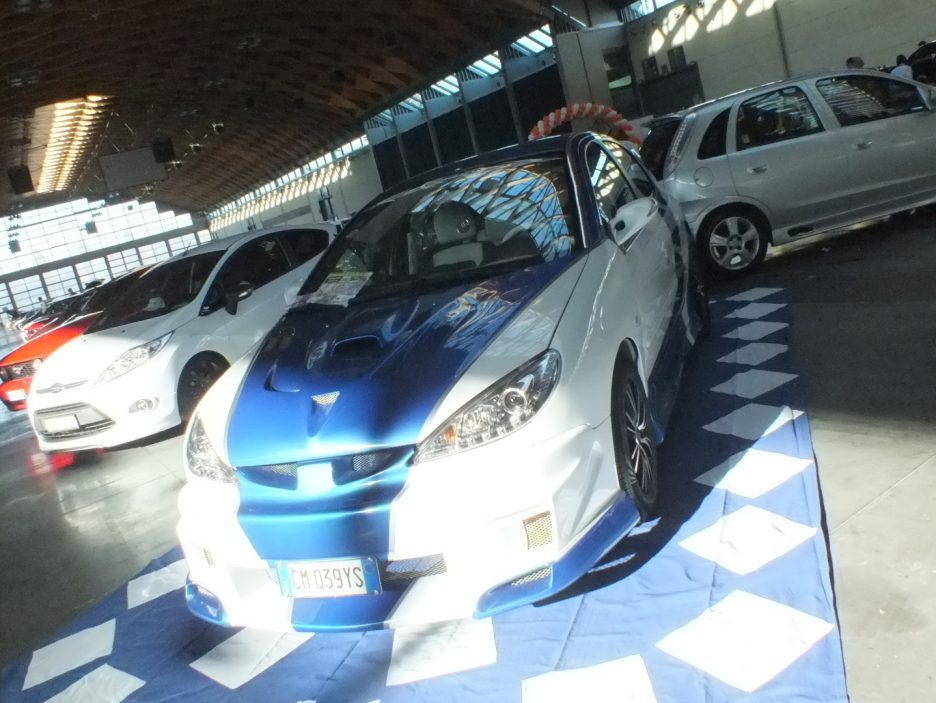 My Special Car 2012 - Peugeot 206 Racing Bianco Blu - Il frontale