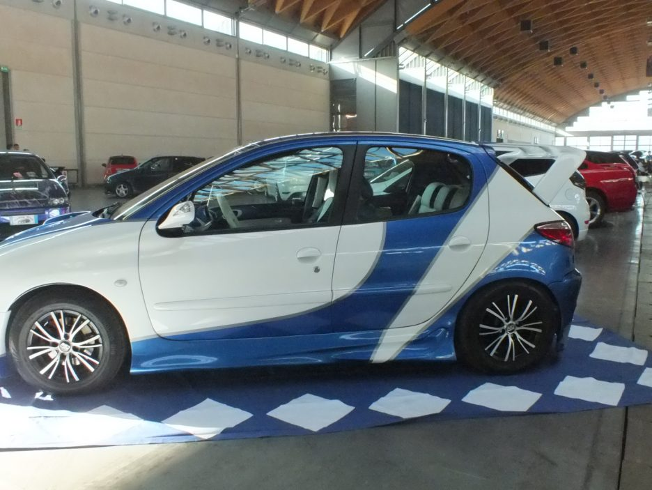My Special Car 2012 - Peugeot 206 Racing Bianco Blu - L'alettone