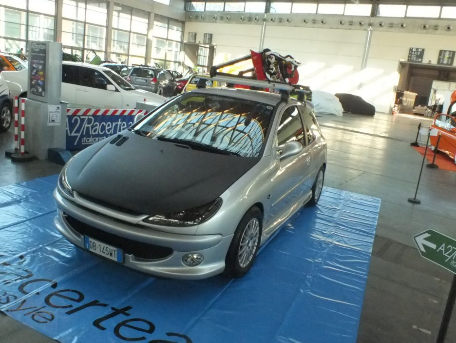 My Special Car 2012 - Peugeot 206 Skater - Il frontale