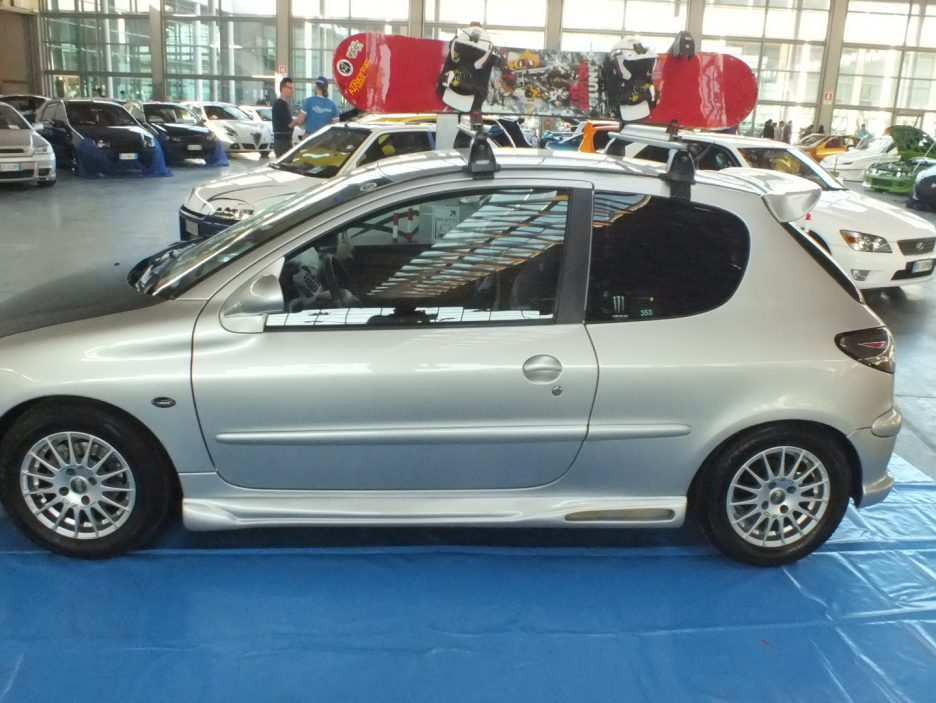 My Special Car 2012 - Peugeot 206 Skater - Vista laterale