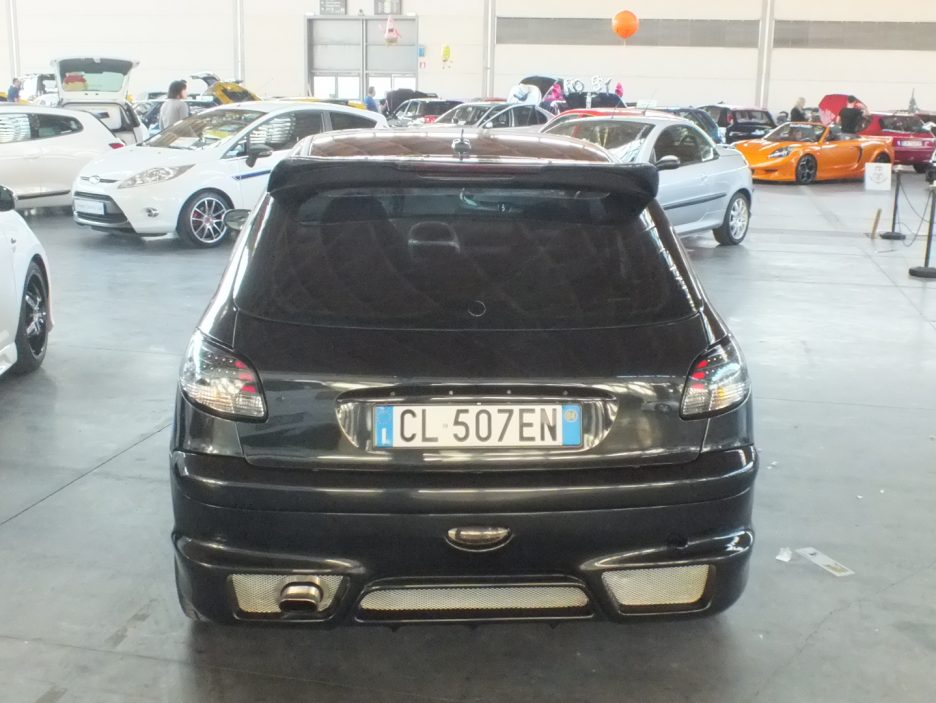 My Special Car 2012 - Peugeot 206 Stars - Il posteriore