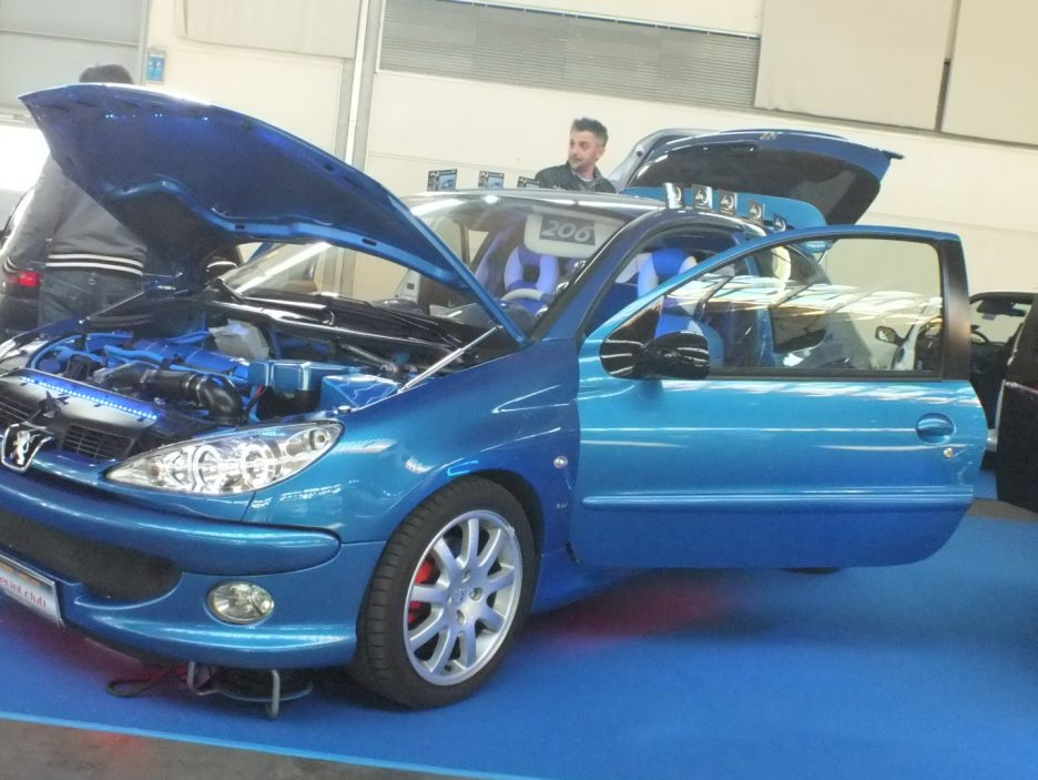 My Special Car 2012 - Peugeot 206 Total Blu
